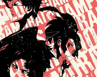 b5b08bf627ac Samurai champloo | Etsy