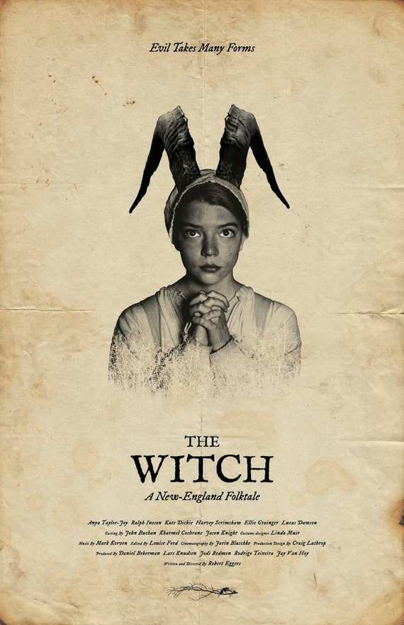 The Witch Film Poster | Etsy