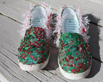 reputable site b44b7 a50ce ugly christmas shoes