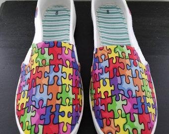 Autism Awareness Shoes