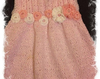 baby girl dress and headband