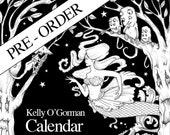Pre Order  - Colouring Calendar 2020 by Kelly O'Gorman