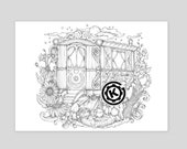 Gypsy Caravan -  Instant PDF Download