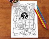 Labyrinth PDF Digital Download