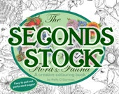 Seconds Stock - The A-Z of Flora and Fauna - A creative colouring book by Kelly O'Gorman