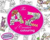 PDF Instant Download - The A to Z of Creative Colouring by Kelly O'Gorman