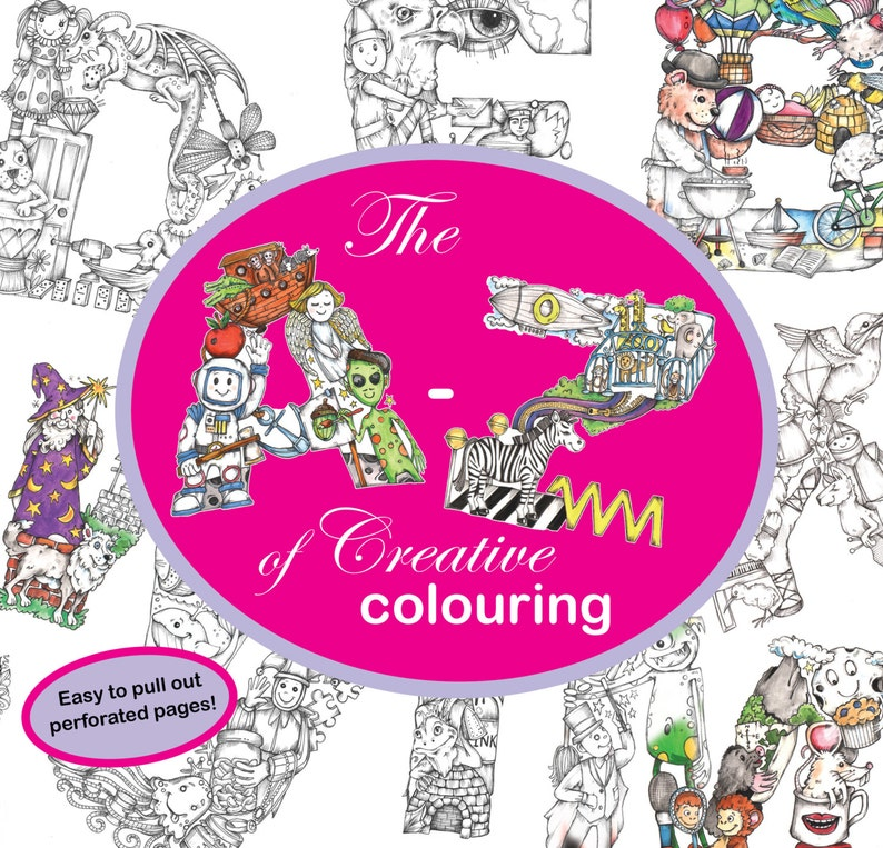 PDF Instant Download  The A to Z of Creative Colouring by image 0