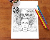 Geisha Girl -  Instant PDF Download