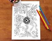 Carousel Horse  -  by Kelly O'Gorman