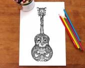 Guitar by Kelly O'Gorman