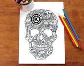 Nature Skull by Kelly O'Gorman