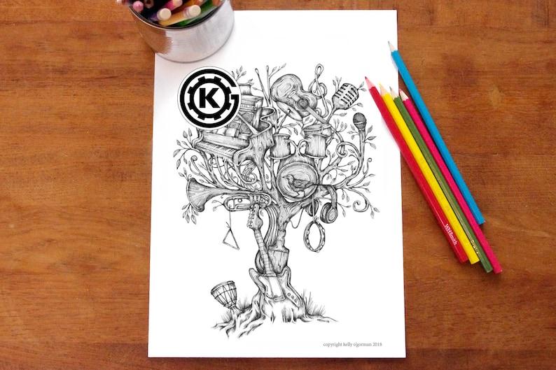 Music Tree   Instant PDF Download image 0