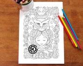Sweet Owl by Kelly O'Gorman