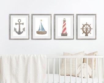 nautical nursery decor etsy