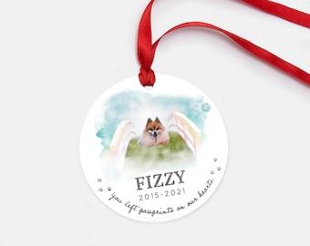 Pawprint Ornament - Rainbow Bridge Pet Memorial Gifts