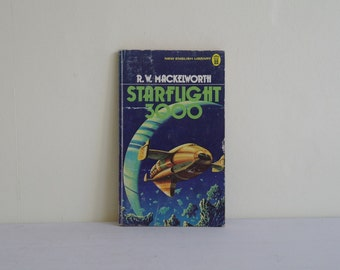 Starflight 3000 by R W Mackelworth, Sci Fi Books, Science Fiction, Novels, Vintage Sci-Fi, Sci-Fi, Sci Fi