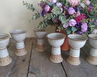 St Keyne Pottery, Pottery Goblets x 6