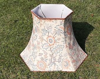 Large Floral Lamp Shade, Standard Lamp Shade