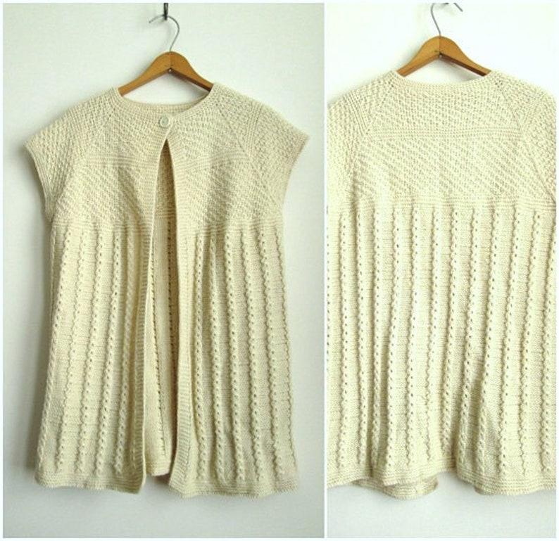 6a0561a45fbc7d Handknit sweater minimalist sweater hand knit cardigan wool