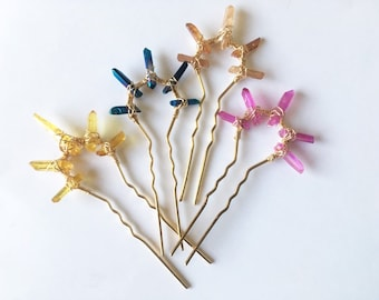 Crystal Hair Sticks