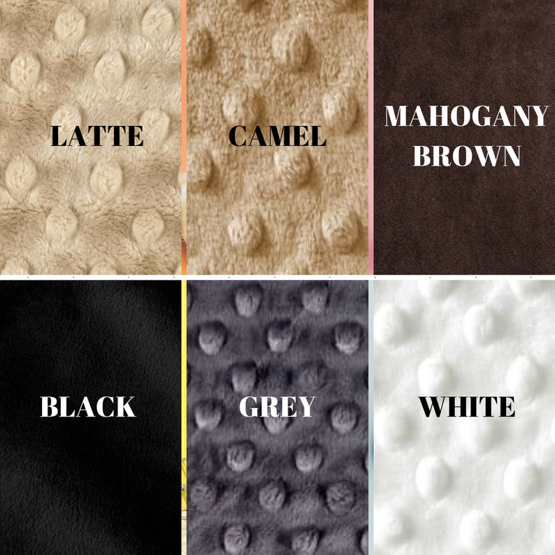 Babies /& Toddlers \u2013 Receiving Nursery Baby Shower Gift Personalized Baby Blanket Beige Brown Cow Double-Sided Soft Blanket for Newborns