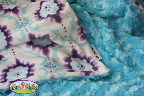 Boy Baby Blanket Alligator Blanket Minky Blanket Personalized Baby Blanket Minky Baby Blanket