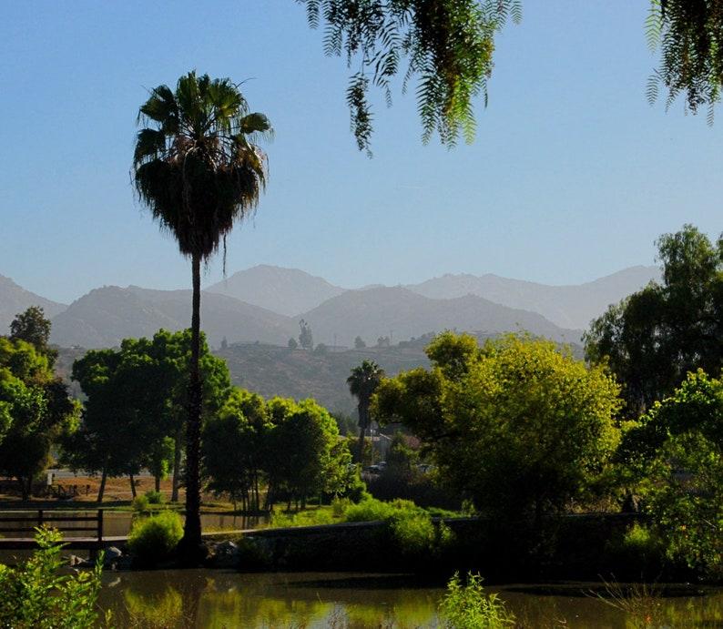 California Hills Photo California Morning Photo Lake Photo image 0