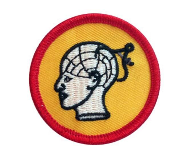 Phrenology Scout Badge