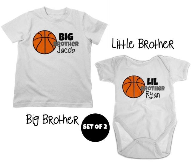 725467ee824 Big Brother Soccer Shirt & Little Brother Shirt or Bodysuit - 2 ...