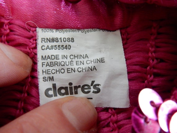 Beret, Pink Sequins, Costume, - image 4