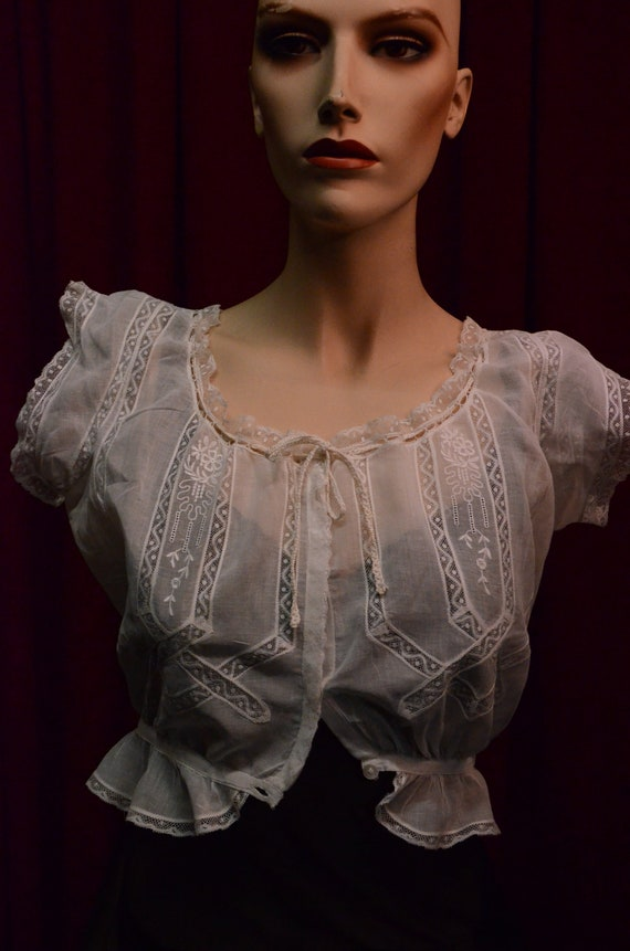 Blouse, Bodice, Genuine Antique