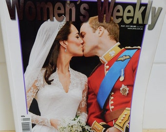 Royal Wedding Prince William Catherine Middleton Women's Weekly