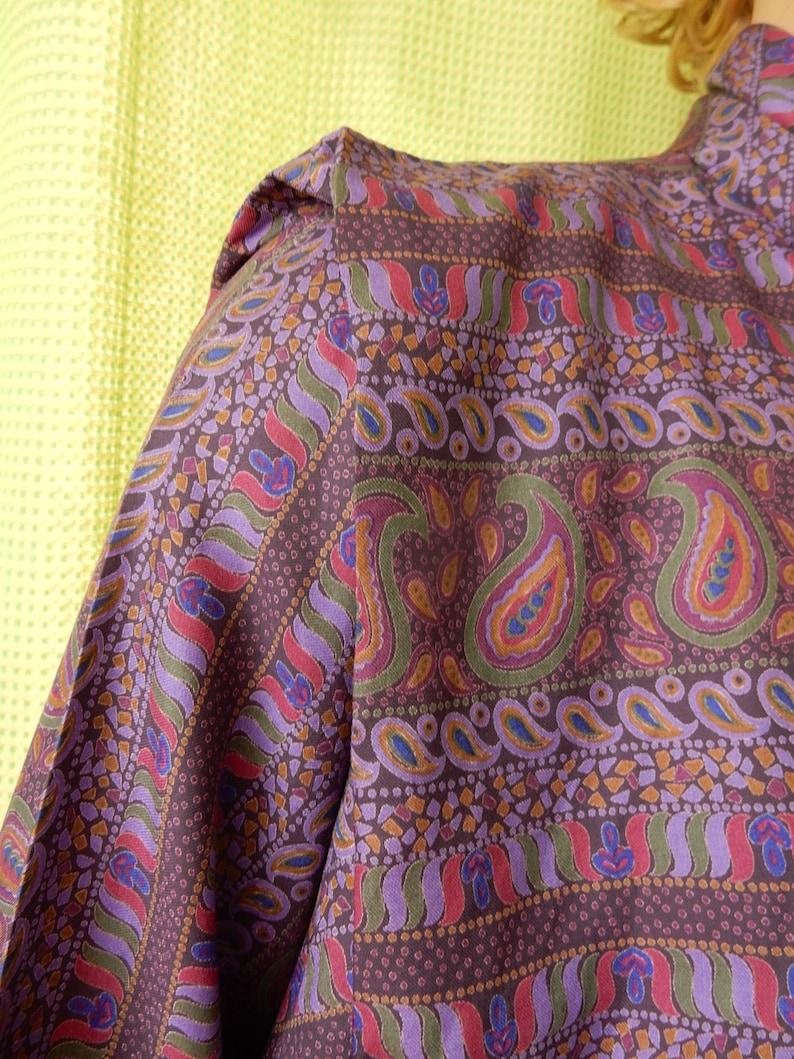 1970s  Classy Lady Blouse Shirt