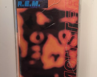 R.E.M. Monster CASSETTE TAPE 1994