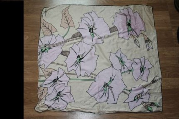 Vintage Richard Allan 1960's headscarf (9)