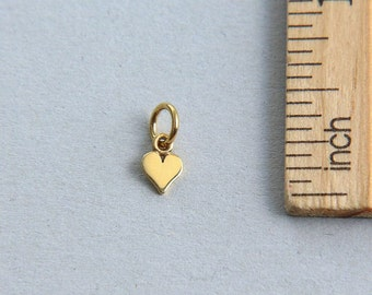 Sterling Silver Tiny 11x10mm Penguin Charm hollow back