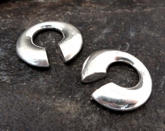Ear weight sterling silver