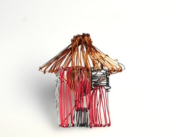 Tiny home, art pins, moving away, colorful gift