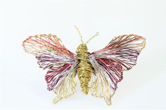 Schmetterling Brosche Insekt Jacke Stift große Brosche | Etsy