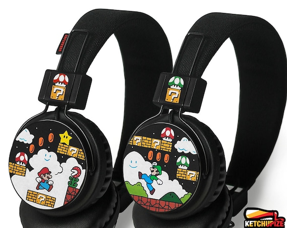 Mario Custom Headphones Painted Geek Birthday Gift For