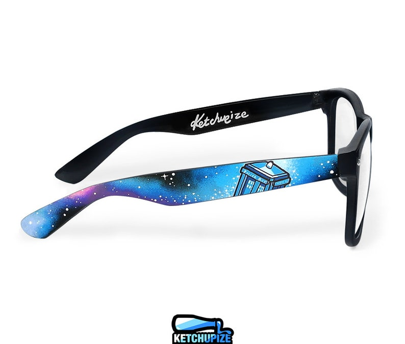 1d08f9f2d4 Doctor Who galaxy clear lens prescription glasses unique gift