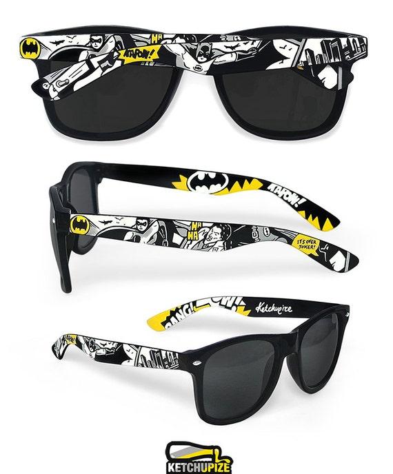 Regalo de cumpleaños de Batman de gafas de sol para hombre de