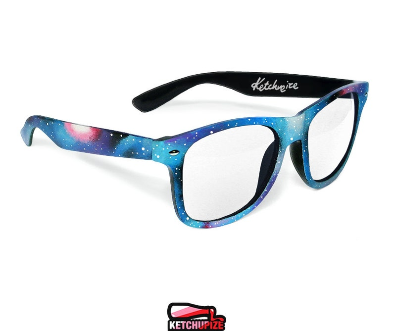 5d1513a14a Galaxy frames Celestial Space Nebula unique men women glasses