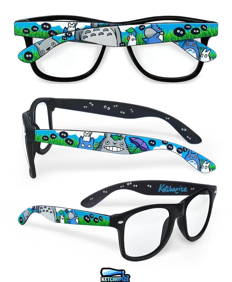 e9ab634f20c Totoro glasses kawaii anime unique gift for her custom