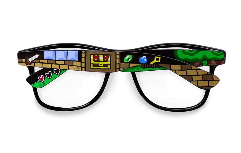 25c67853a2 Legend of Zelda glasses gift for him gift for gamer geek men