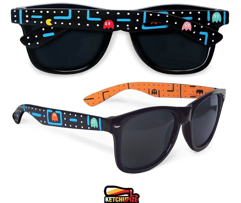 9cb8e33662 Arcade video game Sunglasses geek girl gift idea unique geek