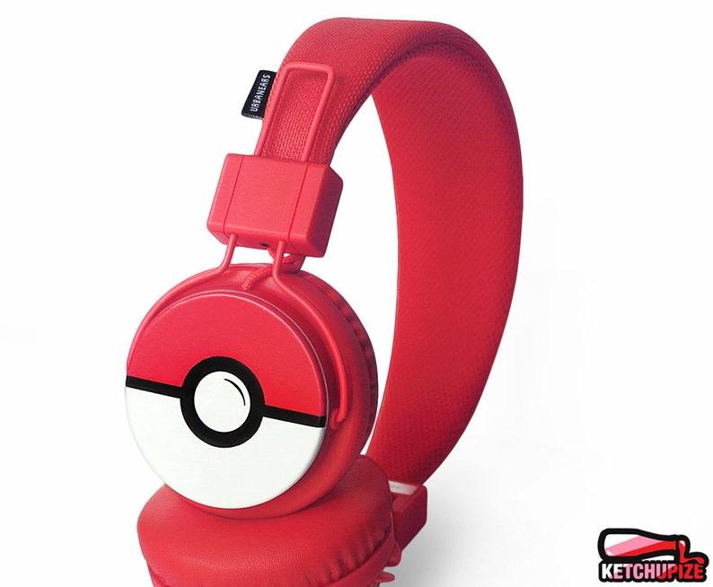 84f8851dd8f Poke-phones Pokemon gift for her customized headphones iphone   Etsy