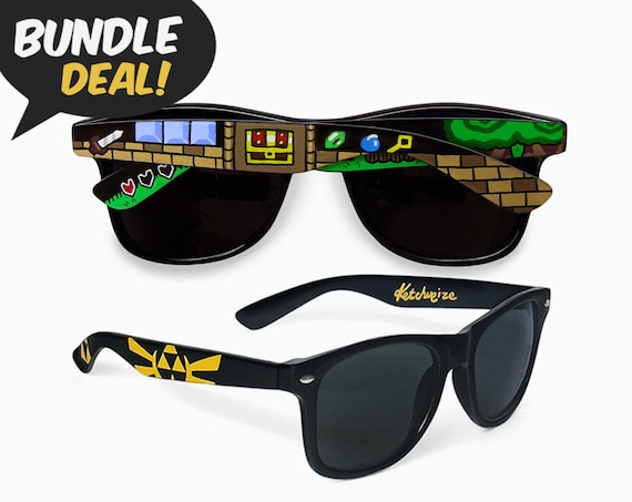 25bd732436 Legend of Zelda sunglasses BUNDLE deal geek gift for her