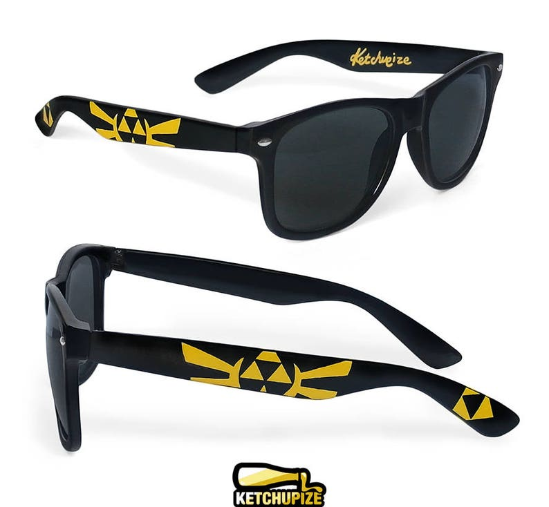 Zelda Sunglasses Custom Wayfarer Geek Guy Gift Husband Birthday F