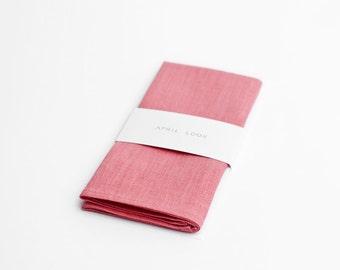 Powder pink pocket square, Baby pink pocket square, Orchid pink pocket square, Ruby pink pocket square, Pocket squares for men, Handkerchief